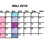 Najava programa za MAJ 2018