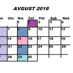 Najava programa za AVGUST 2018