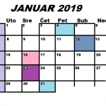 Najava programa za JANUAR 2019